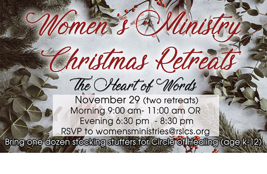Women's Ministry Evening Christmas Retreat