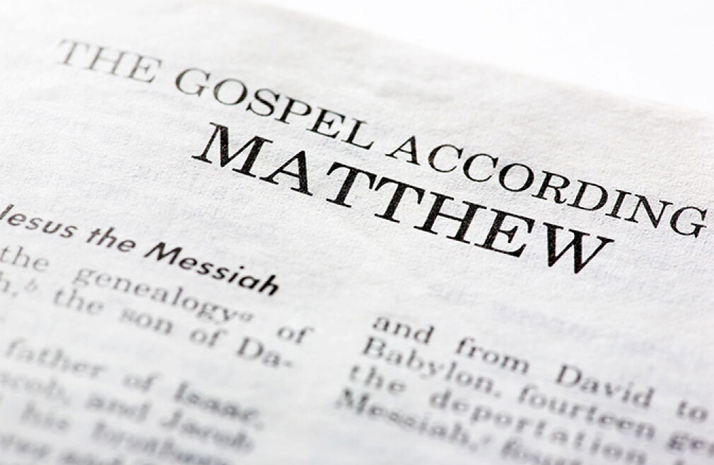 Bible Study - The Gospel According to Matthew