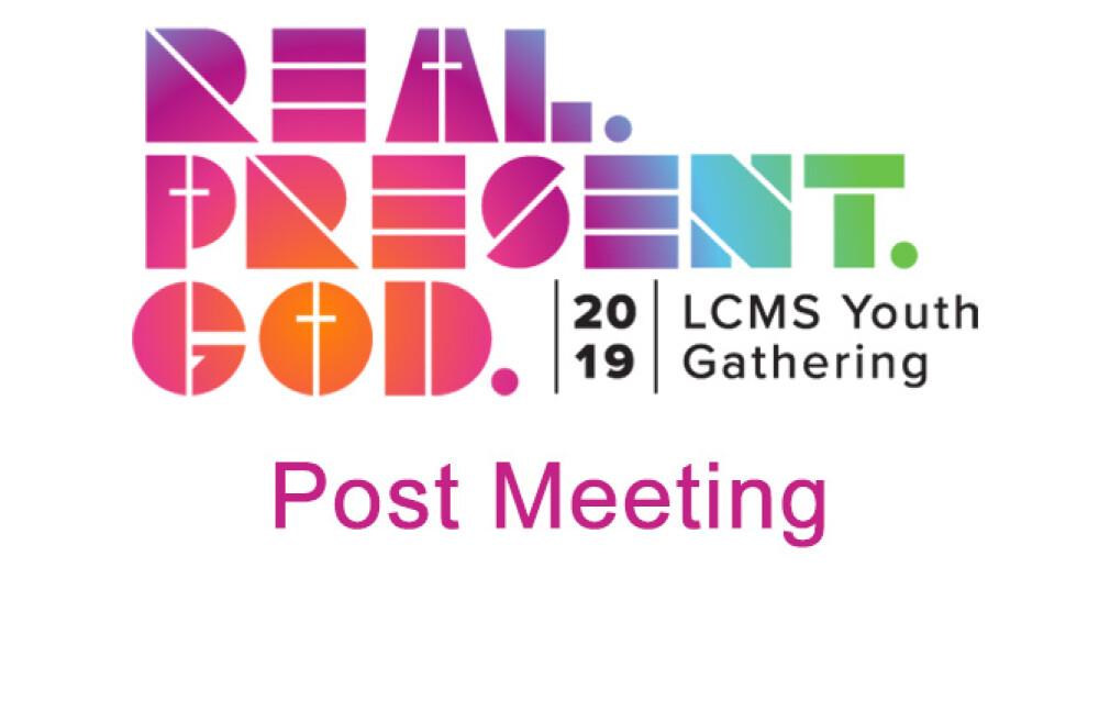 Post NYG High School Meeting