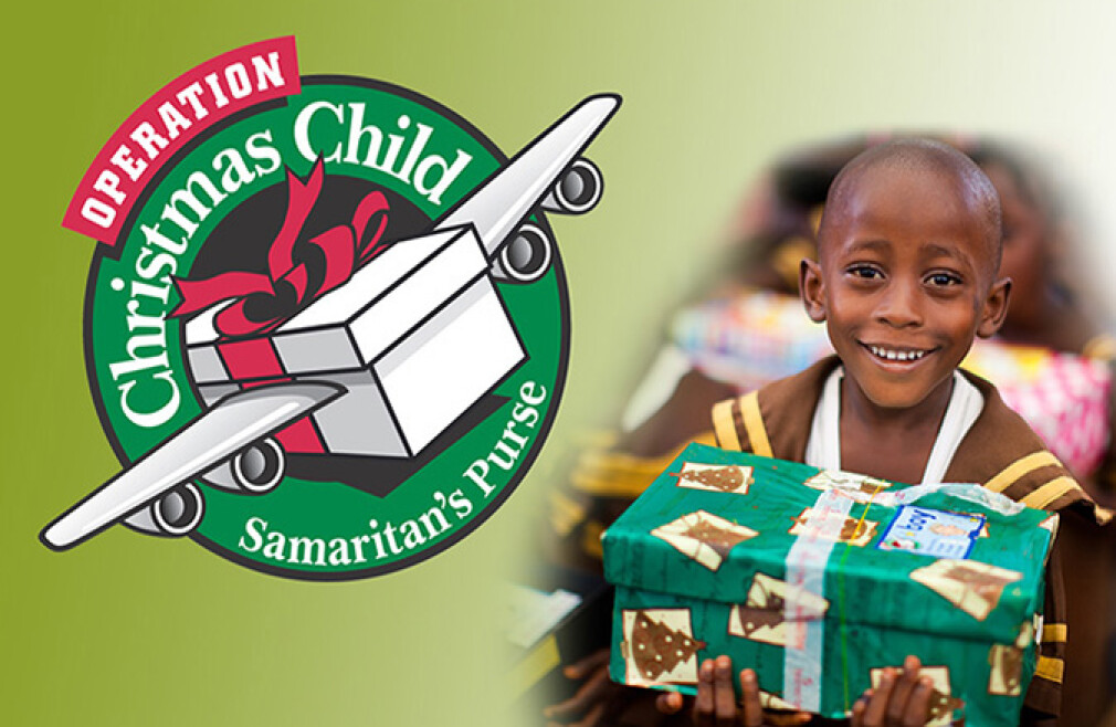 Operation Christmas Child Kick-Off
