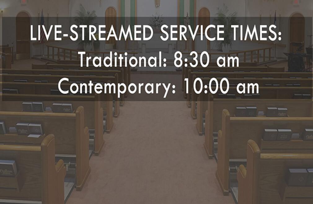 Livestream Worship-Traditional