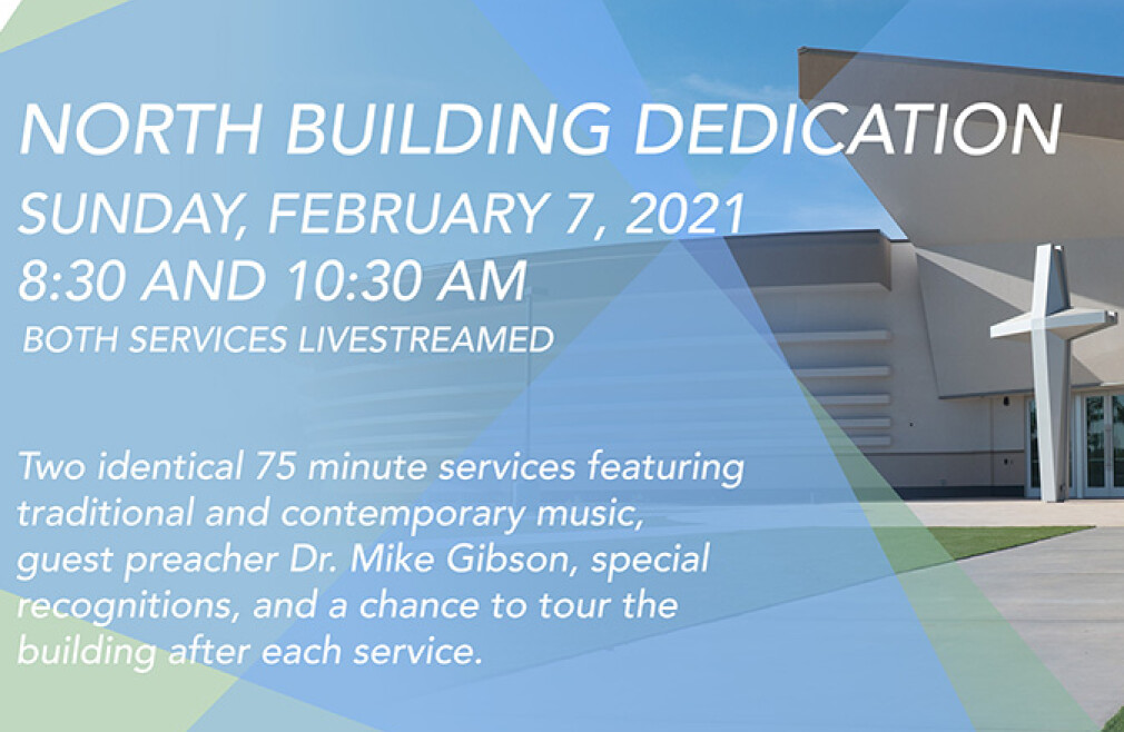 Dedication of the North Property (8:30 am)