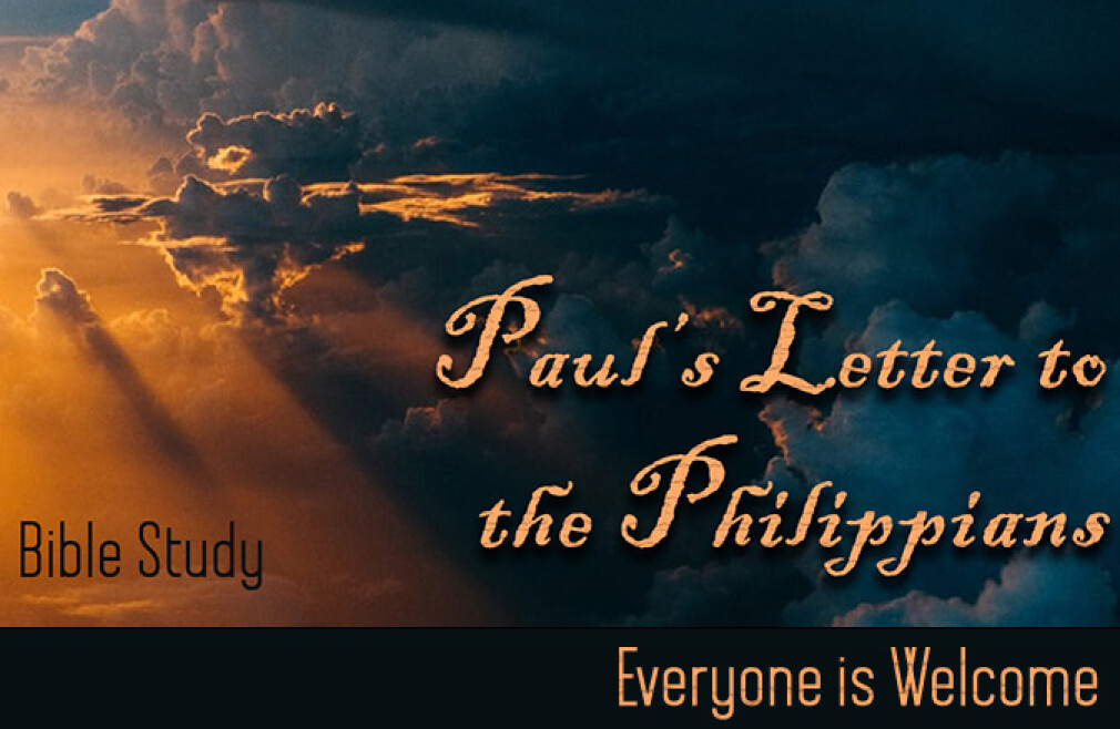 Bible Study: Finding Joy: Paul's Letter to the Philippians (10:15 am)